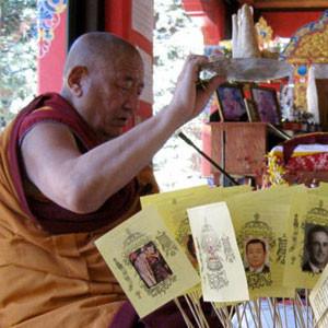 Jangwa with Geshe Ngawang Dakpa