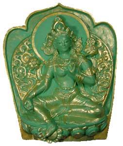 Four Mandala Offerings to Chittamani Tara
