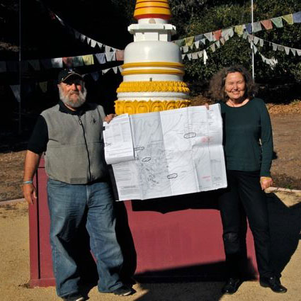 Bob-Cayton_Denice-Macy_Stupa-plans-approved_sq_web