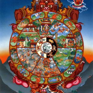 Introduction into the Sacred Art of Tibet: Wheel of Life